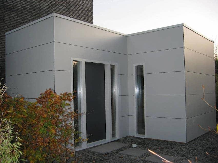 Tuinhuis Cube Hoek | A-tuinhuis