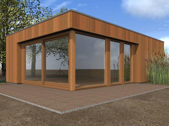 Praktijkruimte glazenhoek | a-tuinhuis
