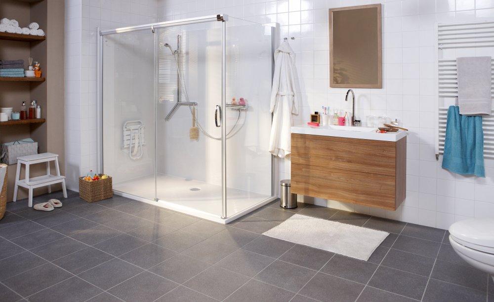 Aangepaste badkamer - Molenaar