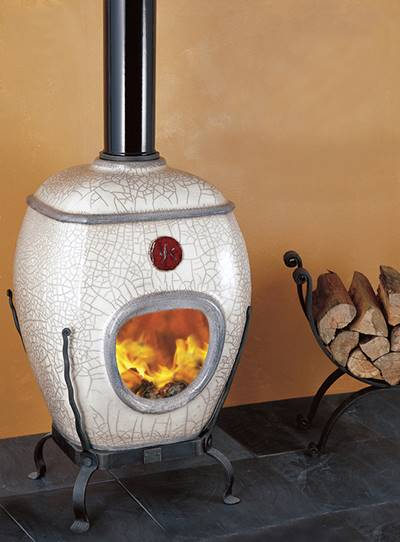 African Flame pothaarden gemaakt van vuurvast Niltherm®
