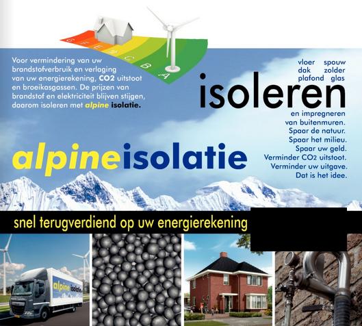 Alpine isolatie gratis thuisadvies