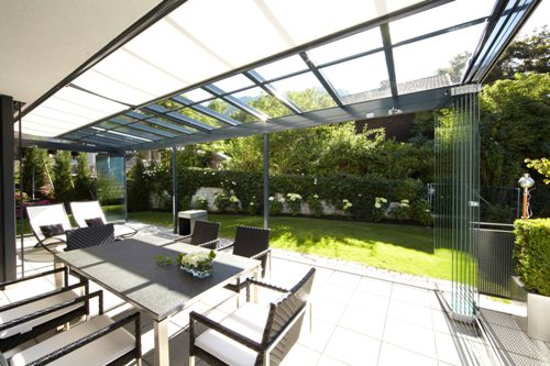 Aluminium terrasoverkapping | Busscher