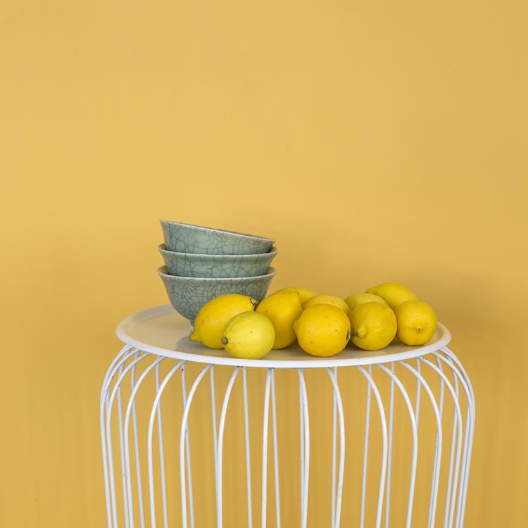 Frisse krijtverfkleur citron | Amazona