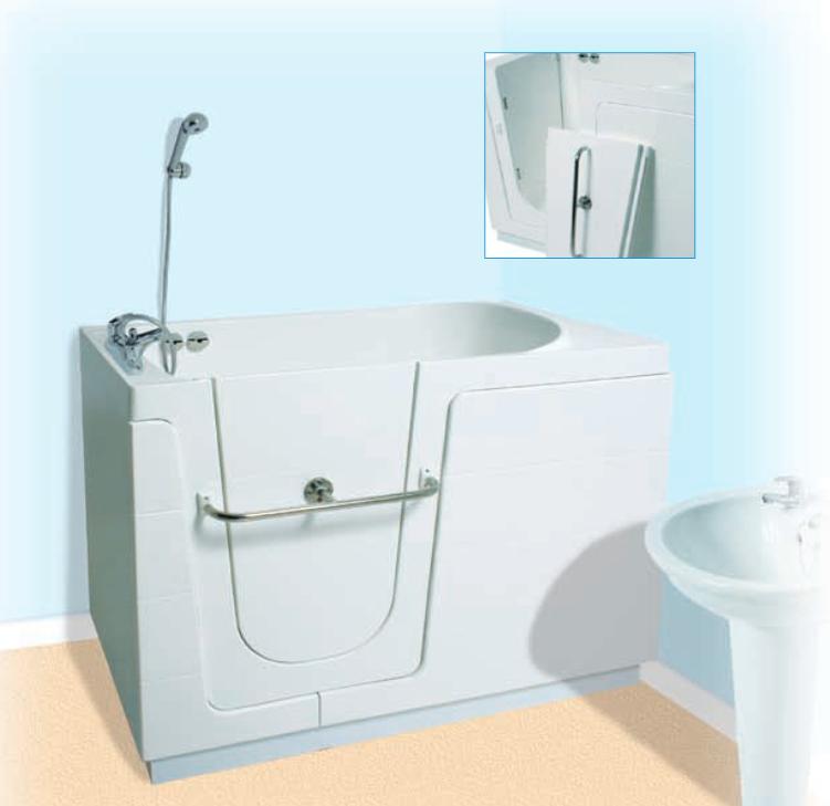 Senioren bad voor kleine badkamer - Product in beeld - Startpagina ...