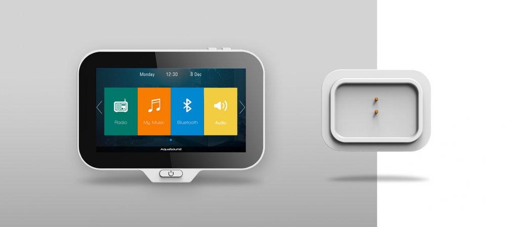 Aquasound Inbouw radio-systeem voor Badkamer - Product in beeld ...