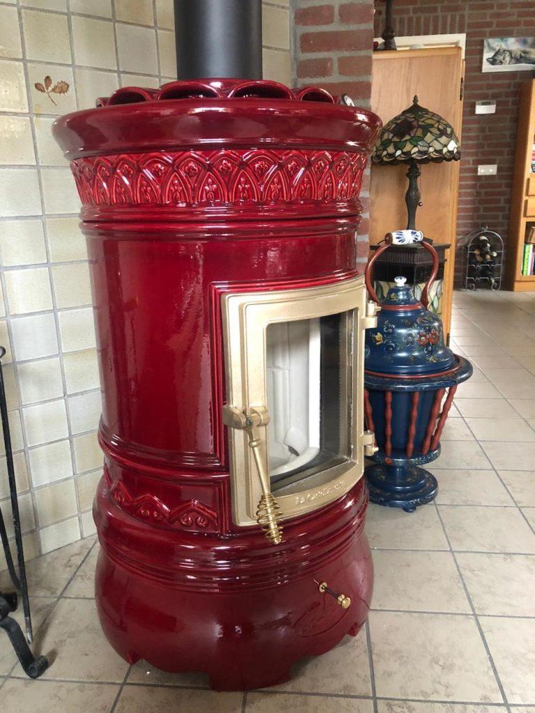 Klassieke keramische houtkachel | Art of Fire