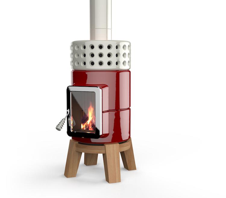 Keramieke houtkachel Italiaans Design | Stack Stoves