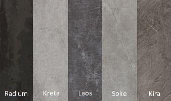 Arte keukenbladen industriële- natuur- & beton kleuren