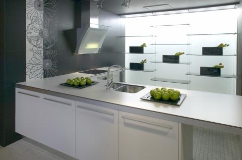 Arte werkblad van duurzaam keramiek product in beeld for Werkblad keuken keramiek