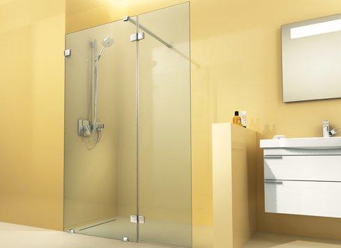 Open doucheruimte product in beeld startpagina voor badkamer