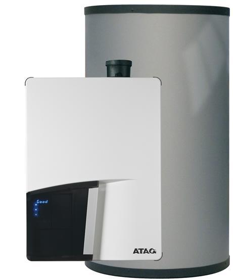 CV-ketel met externe boiler | ATAG