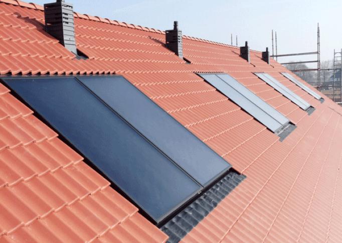 Verwarmen met zonlichtsystemen