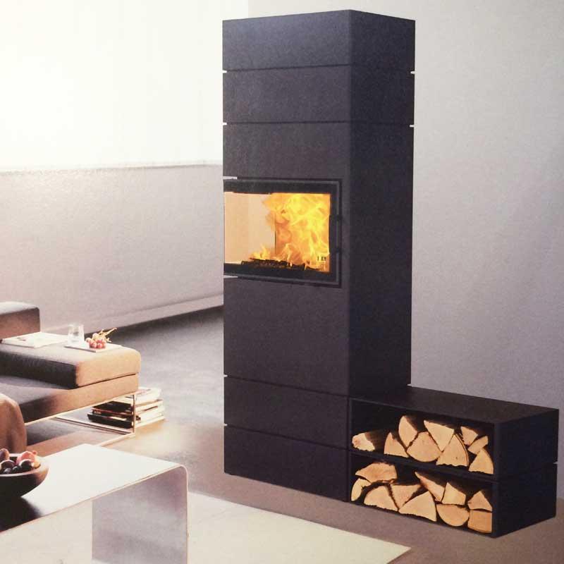 austroflamm dexter haard houtkachel product in beeld. Black Bedroom Furniture Sets. Home Design Ideas