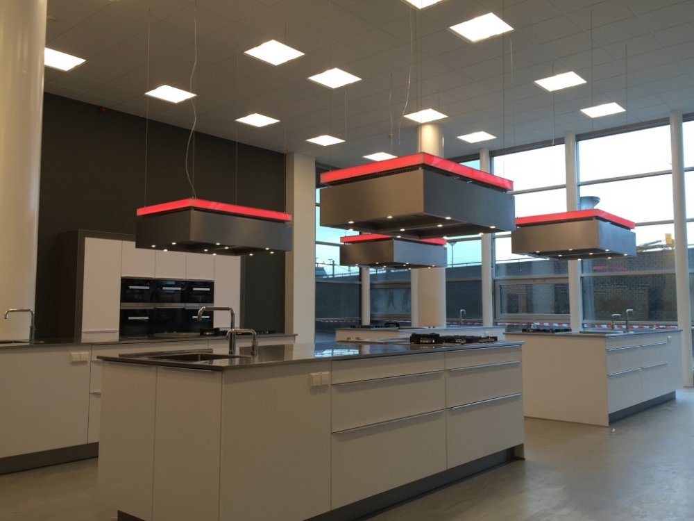 Keuken Afzuigkap Recirculatie : aXiair Alaro DMU Recirculatie Eiland Afzuigkap – Product in beeld