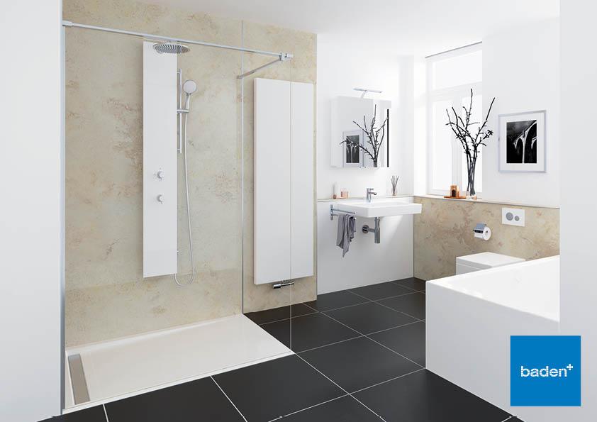 baden snel genieten van uw nieuwe douche product in