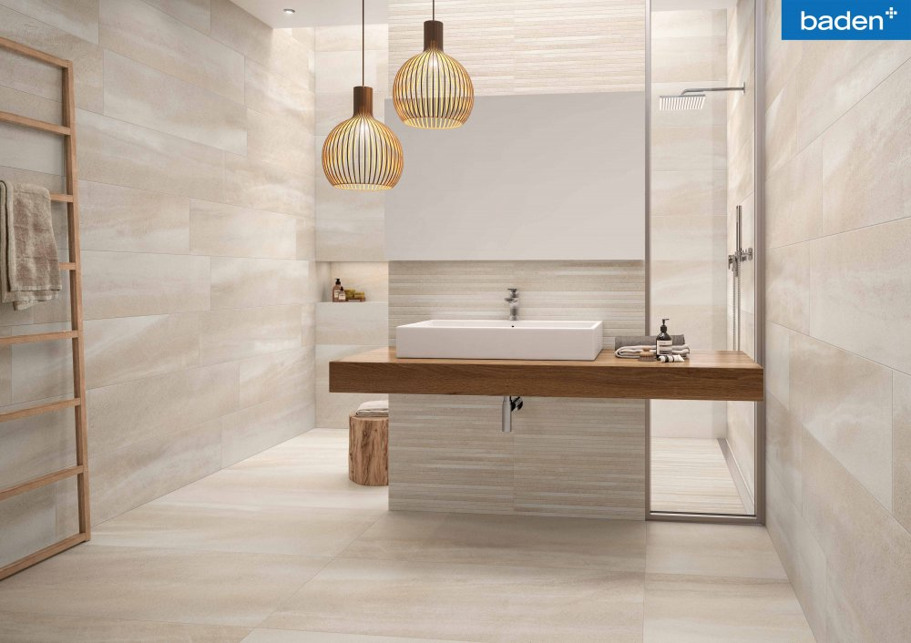 Baden+ | Tips om de juiste tegel te kiezen voor uw badkamer