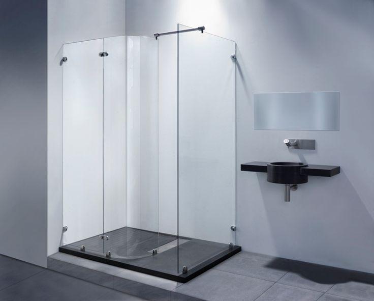 Badkamer Deur : Het ronde gedeelte kan (bij mij) naar buiten draaien ...