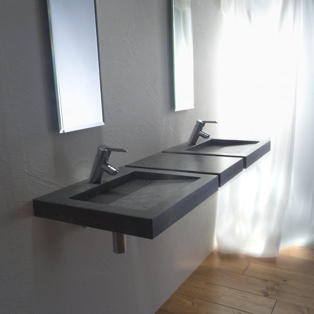 dubbele lavabo badkamer brigee