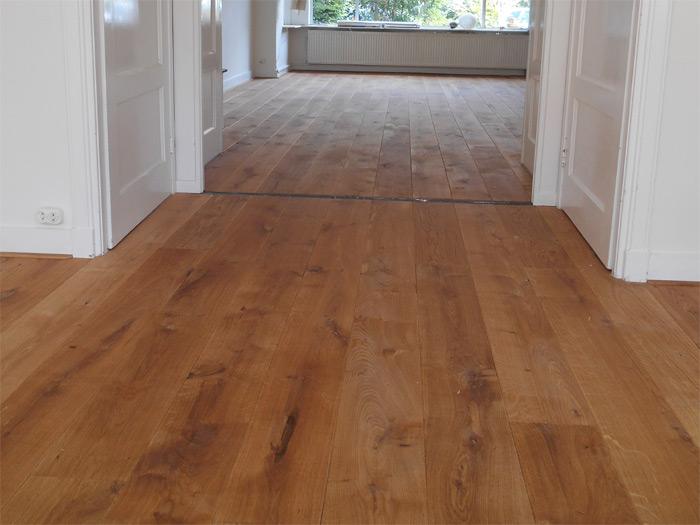 Eiken lamelparket licht gerookt bax houten vloeren product in