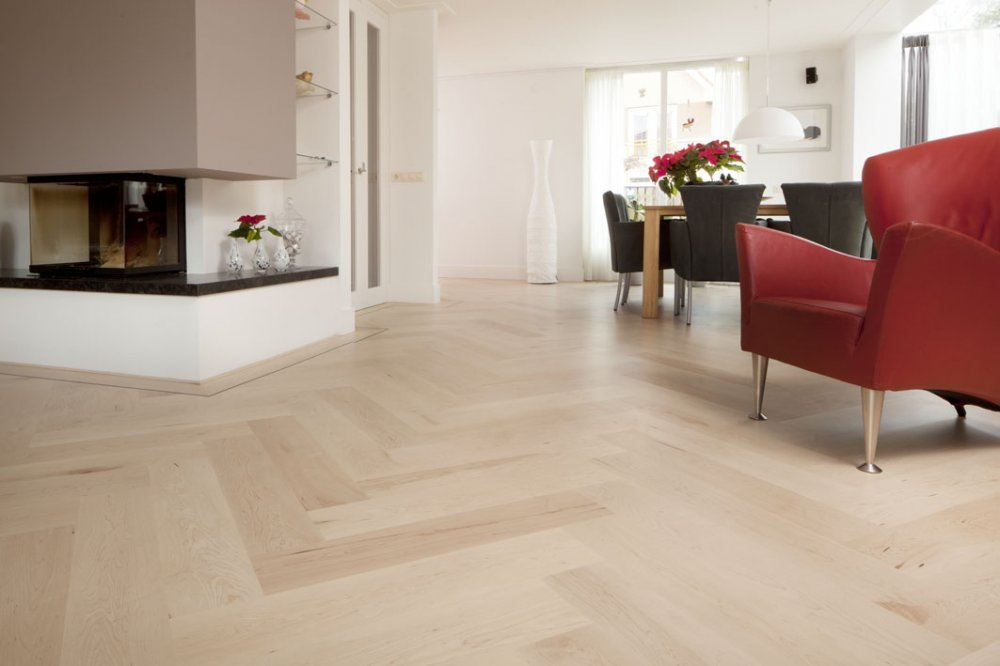 Beukers Vloeren - Visgraat vloeren