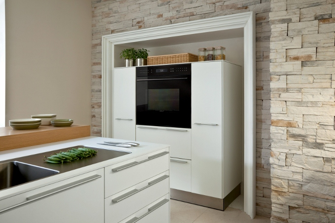 Black Glass E-serie Ovens van Wolf