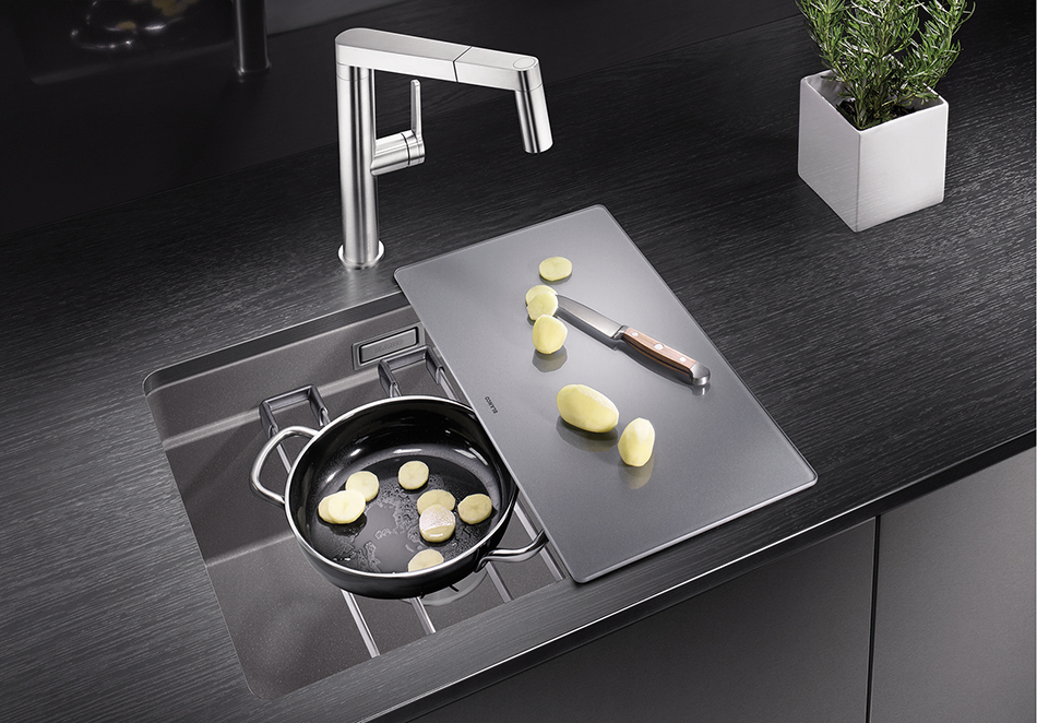 blanco etage spoelbak etagon 500 product in beeld startpagina voor keuken idee n uw. Black Bedroom Furniture Sets. Home Design Ideas