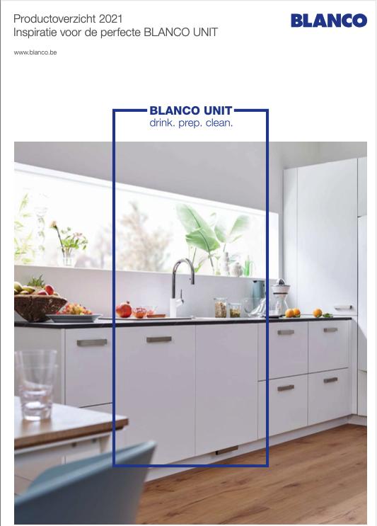 Brochure Blanco kranen & spoelbakken