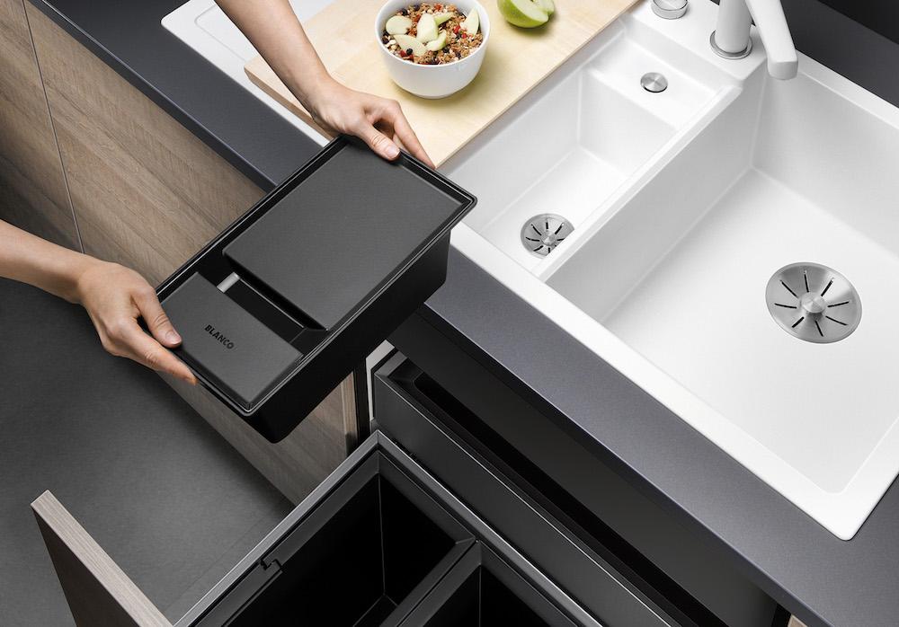 blanco spoelbak collectis 6 s met organisch afvalbakje product in beeld startpagina voor. Black Bedroom Furniture Sets. Home Design Ideas