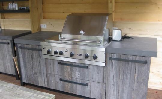Blauwstaal Keuken : Blauwstaal buitenkeuken – Product in beeld – Startpagina voor keuken