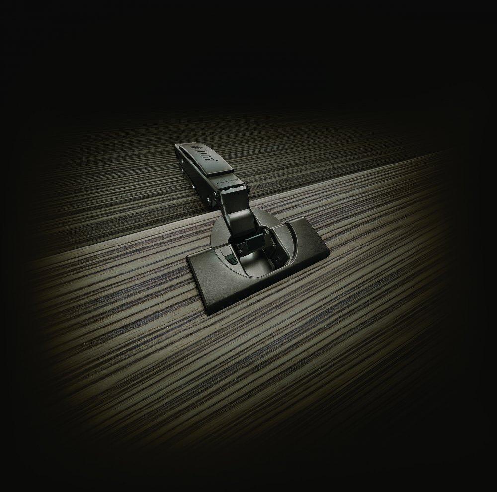 Blum Clip top Blumotion zwarte scharnieren voor keukenkasten