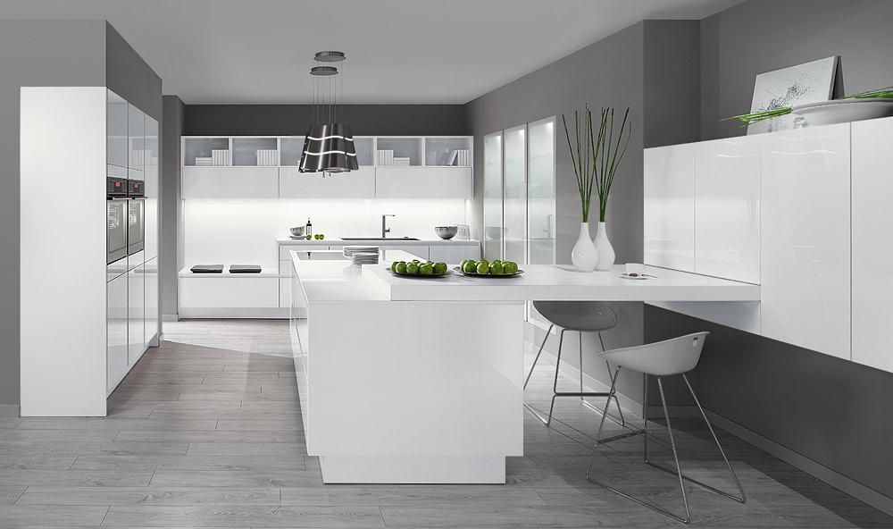BLX 32 design keuken alpinewit