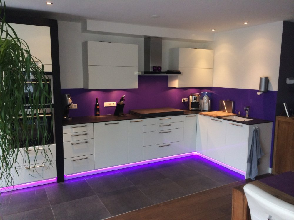 Achterwand Keuken Geen Tegels : keuken achterwand kleuren – Product in beeld – Startpagina voor keuken