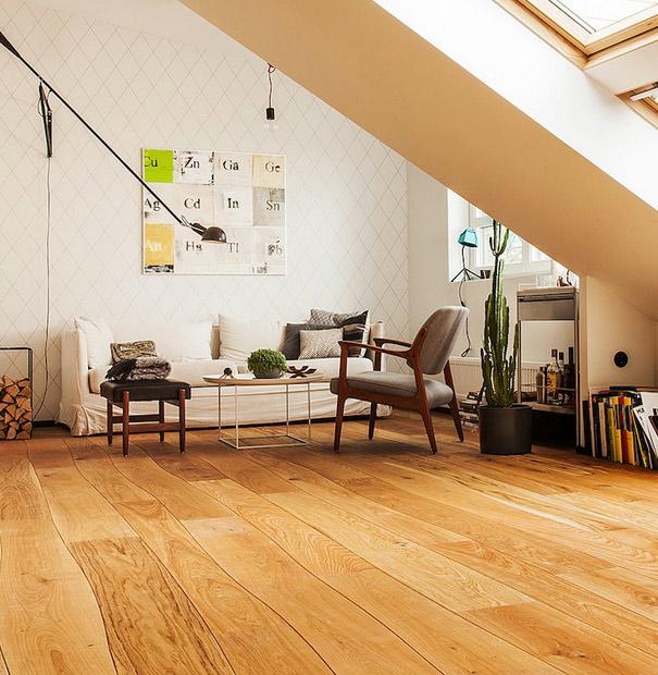Bolefloor Curv8 houten vloer