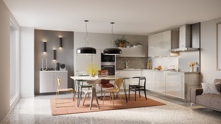 Keuken Pure Cristal | Brigitte Keukens