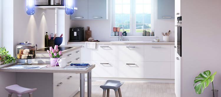 Kleine moderne keuken | Brigitte Keukens