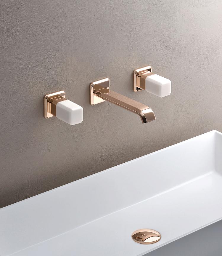 Badkamer kraan met elegante look
