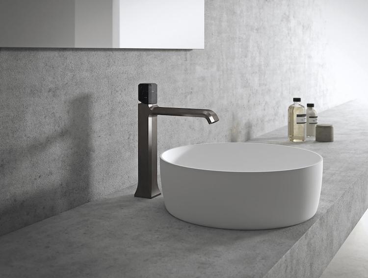 Badkamer kraan met elegante look product in beeld for Badkamer kraan