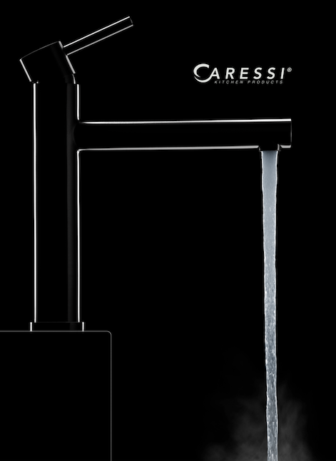 Caressi Black Line zwarte kranen
