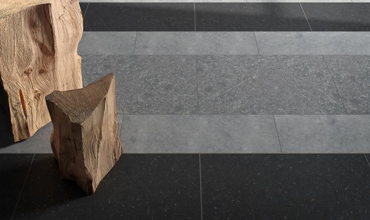 Speelse vloer van natuursteen carrieres du hainaut product in
