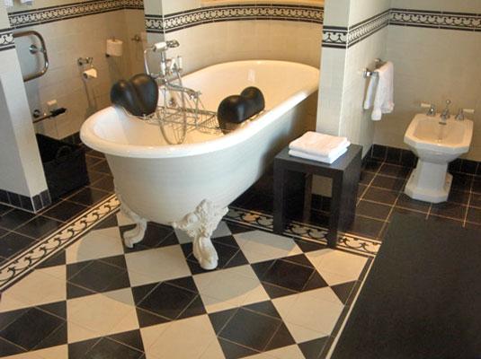 Portugese Vloertegels Keuken : Castelo Portugese tegels Classic lijn zwart wit – Product in beeld