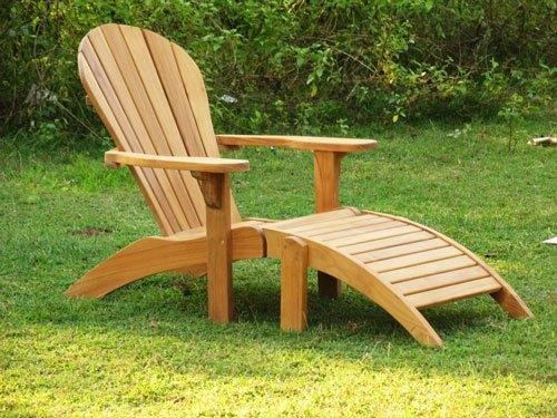 Lounge stoel van teakhout | Celeste Tuinmeubelen