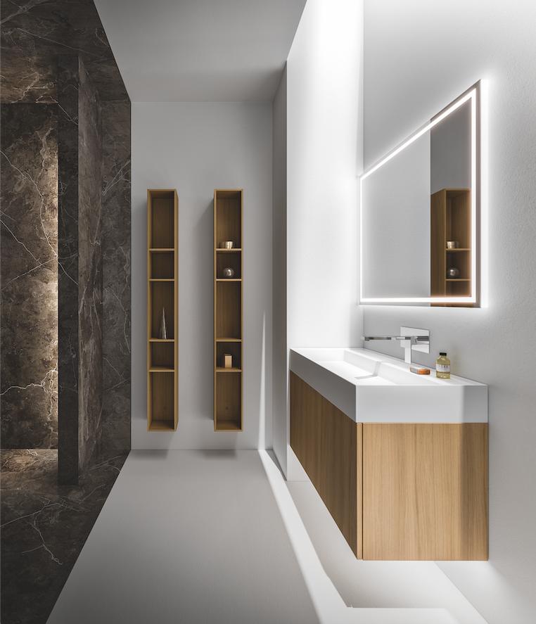 Badkamermeubel licht eiken | Cerasa