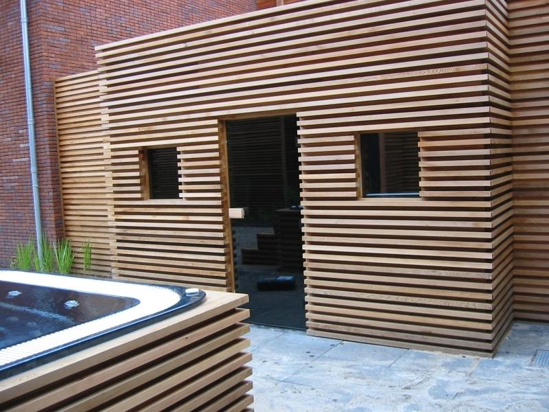 cerdic luxe buiten sauna product in beeld startpagina voor tuin idee n uw. Black Bedroom Furniture Sets. Home Design Ideas