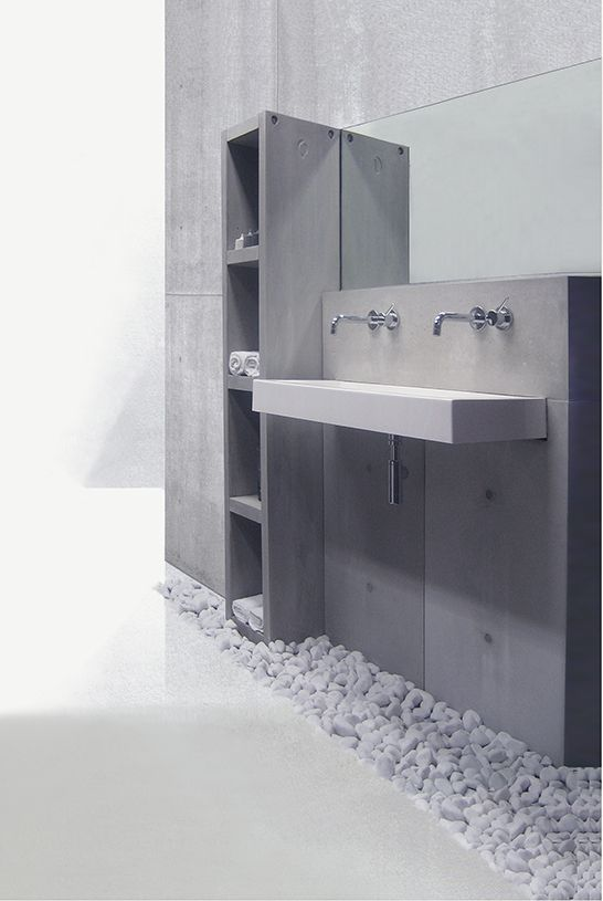ConcreetDesign beton sanitair modules
