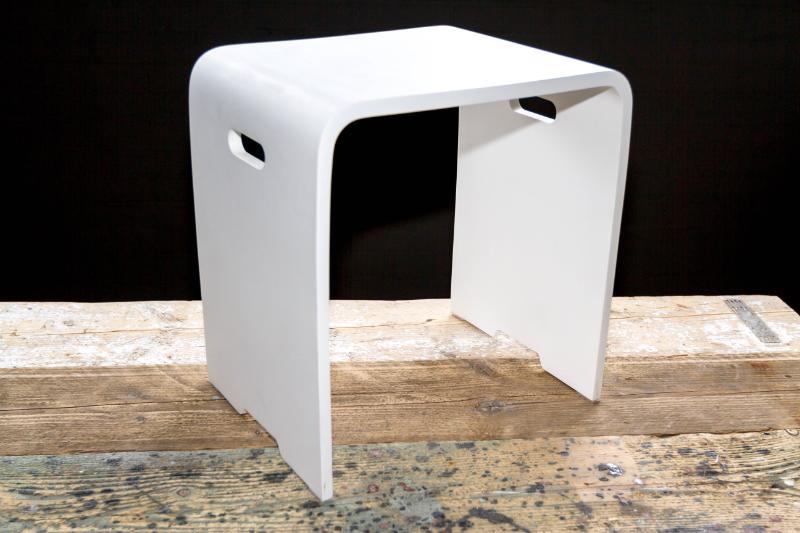 Cross Tone ACTIE badkamerkrukje Solid Surface - Product in beeld ...