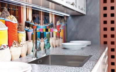 Dan Küchen granieten werkbladen