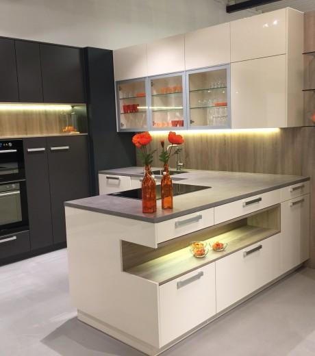Dan Küchen keukenopstelling Riftgrau