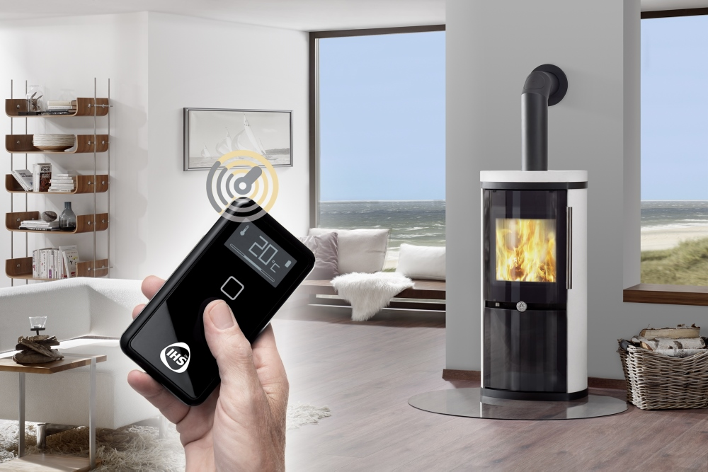 Dan Skan Orbit houtkachel met Intelligent Heat System