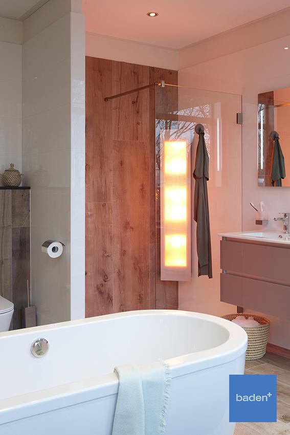 De badkamer om te genieten