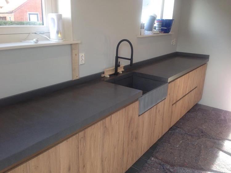 Keukenblad met betonlook | de Keukenbladenfabriek